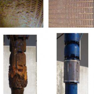Avant-Après : crépine et pompe