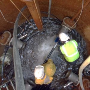 Nettoyage de drains